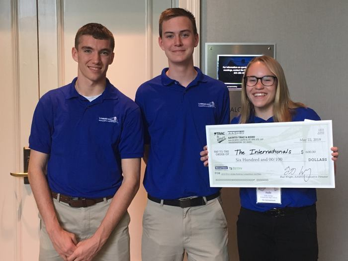 SCS Students Take 3rd in National Engineering Competition
