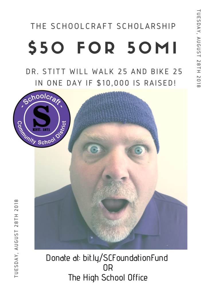 $50 for 50mi Scholarship Fundraiser