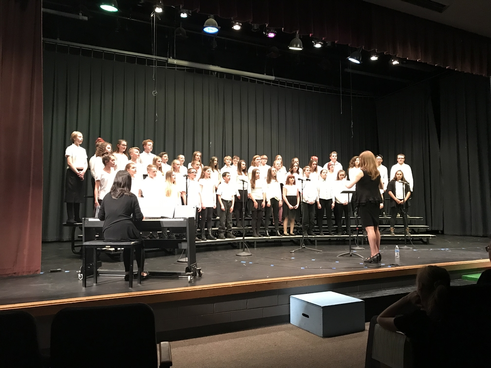 Congrats SMS Choirs!