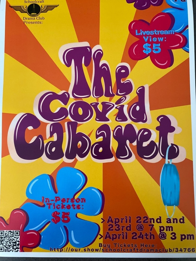 Schoolcraft Drama Club Presents- The Covid Cabaret!