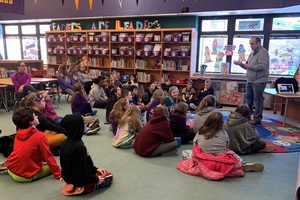 Battle of the Books Author Visits our School!