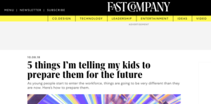 5 things I'm telling my kids to prepare them for the future As young people start to enter the workforce, things are going to be very different than they are now. Here's how to prepare them.