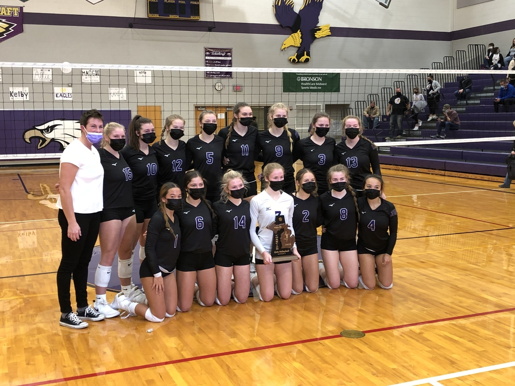 SHS Volleyball District Champs 2020