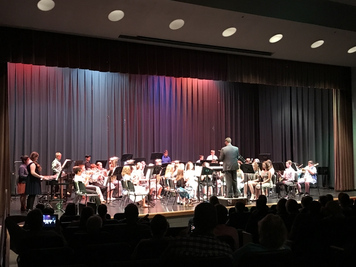 6th grade band Rocks the World!!!