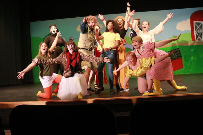 This is how excited you'll be at the opening night of HONK!