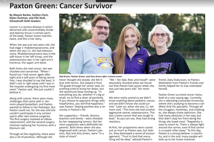 Green Family Article