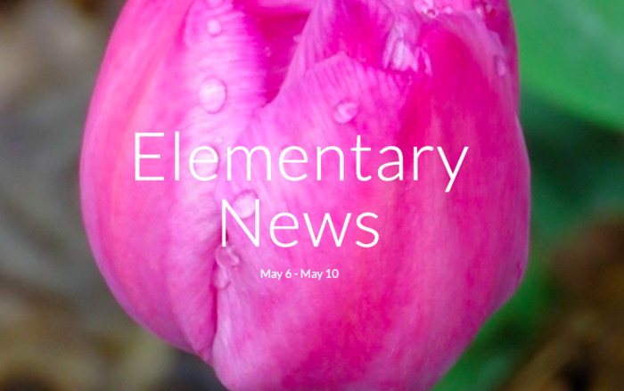 Elementary news for May 11th