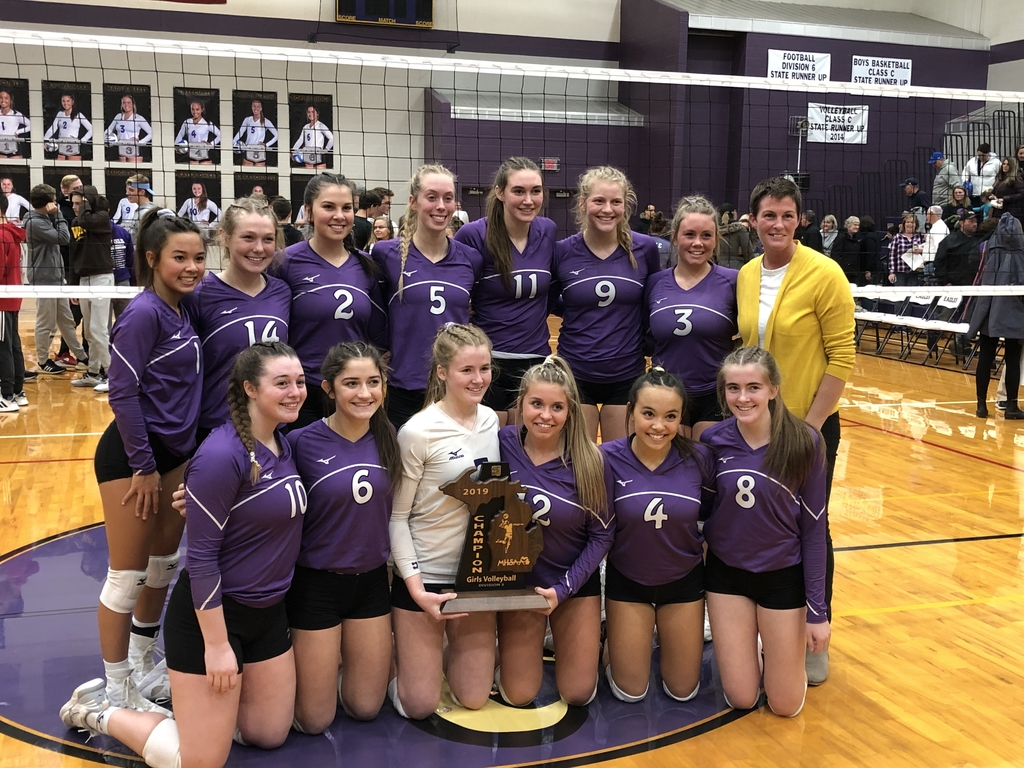 SHS Volleyball Regional Champs 2019