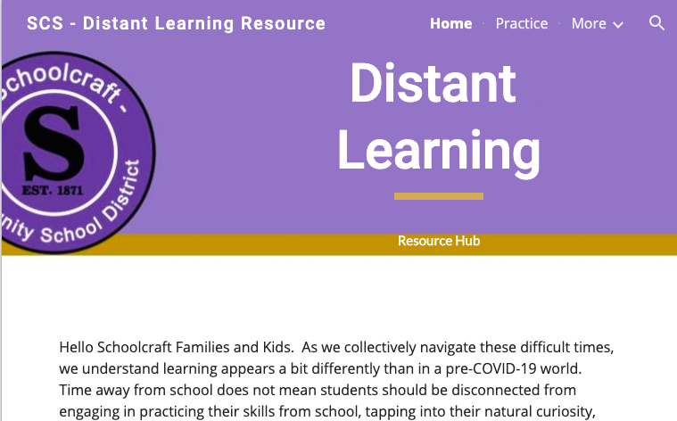 Distant Learning Resource. Hub